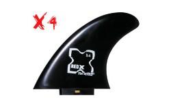 X4 Red X Fins